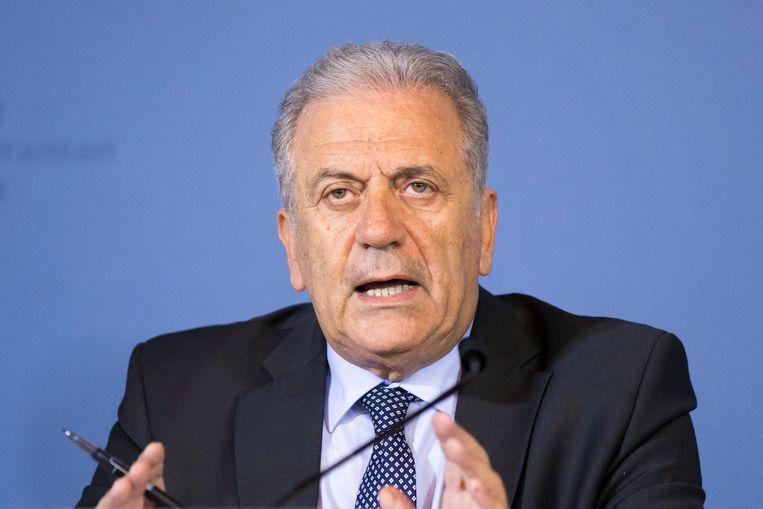 Europees Commissaris Dimitris Avramopoulos