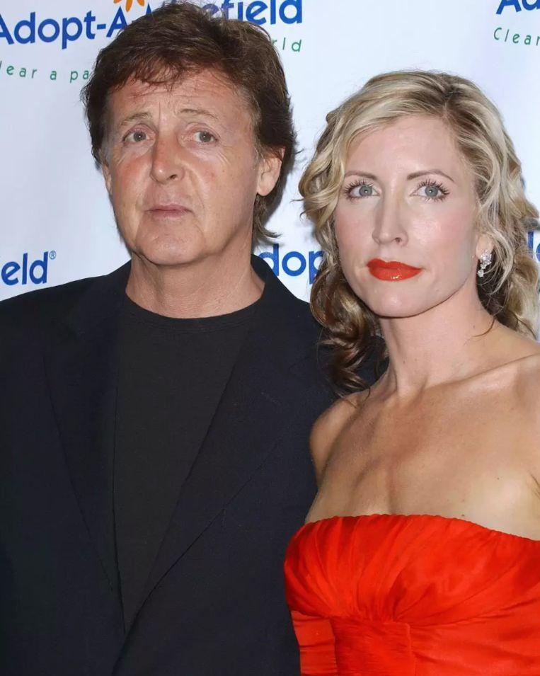 Paul McCartney en Heather Mills