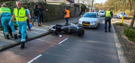 Meerdere motorrijders onderuit in Helmond, Deurne en Eindhoven