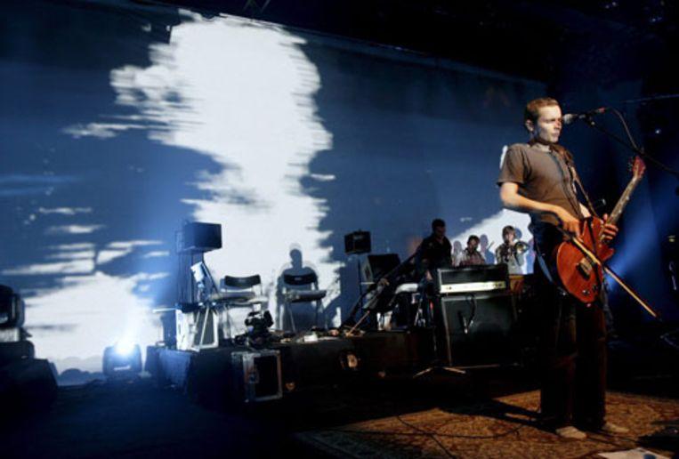 De IJslandse band Sigur Ros. De foto is in Montreux genomen. (EPA) Beeld