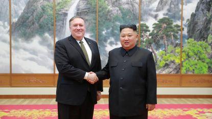"""Pompeo """"bekijkt opties"""" met Kim Jong-un voor nieuwe top met Trump"""