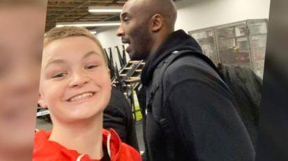 Jonge fan (13) nam mogelijk allerlaatste foto van Kobe Bryant