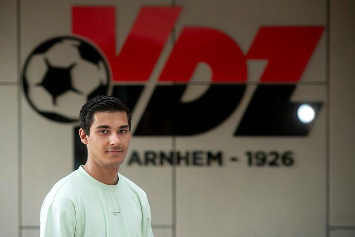 Arnhem, 11 augustus 2020. Voetbal VDZ: Daan vd Held keert terug na een beroerde blessure. dgfoto . Foto: Gerard Burgers