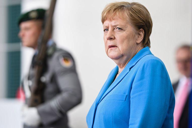 Angela Merkel ist mit der Nominierung von Von der Leyen | sicherlich nicht zufrieden Treu