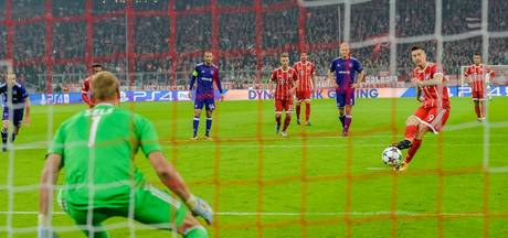 Het wemelt van de penalty's in de Champions League