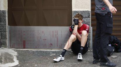 Tao Geoghegan Hart loopt sleutelbeenbreuk op bij val in Giro