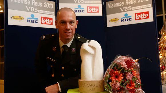 Vorig jaar ging de Vlaamse Reus naar triatleet Frederik Van Lierde.