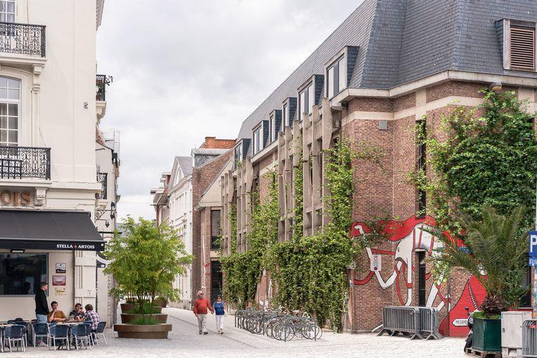 Een toekomstbeeld van de benedenstad in Leuven.