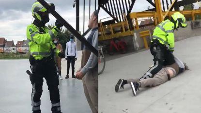 Agent pakt jongeman hard aan met pepperspray en vuistslag in Roeselare nadat hij weigerde mondmasker te dragen