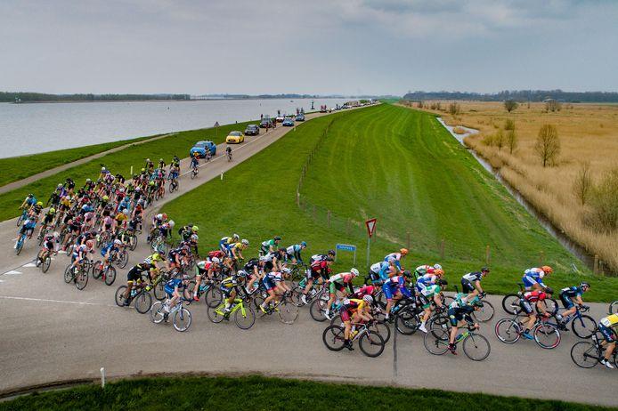 De renners zullen dit jaar de Zuiderzeeronde niet rijden, en dus ook niet passeren in Ketelhaven.
