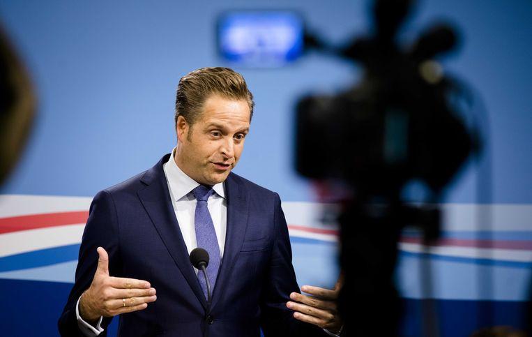 Minister Hugo de Jonge wil de dood meer bespreekbaar maken.  Beeld ANP