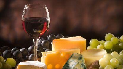 Kaas- en wijnavond in Sint-Jozef