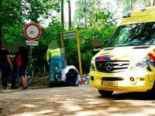 Fietsster gewond na ongeval op Lunterense Hessenweg