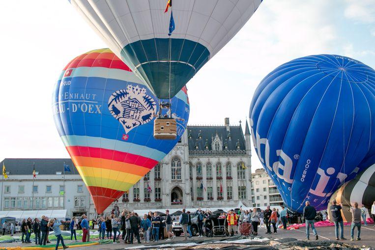 Illustratief beeld van de voorbije ballonfeesten in Sint-Niklaas.