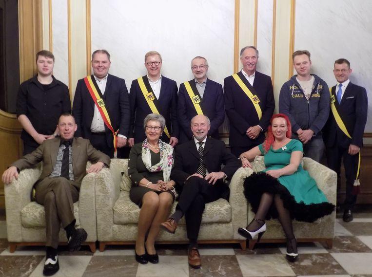 De familie Van Hyfte.