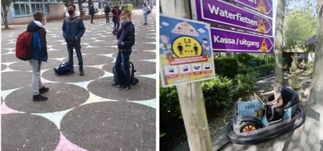 Luchtig nieuws in coronatijd: Cirkels op het plein in Gronau en eindelijk weer naar de Waarbeek