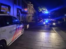 Woningbrand in Woerden centrum