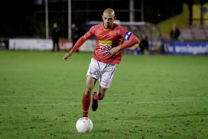Reguillo Vandepitte benutte woensdagavond de beslissende strafschop voor Hoek tegenFC Lisse.