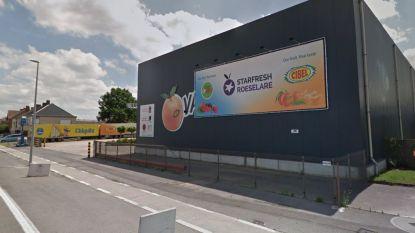 Site fruitgroothandel Vanhuyse staat te koop