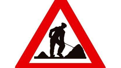 Hoogstraat afgesloten voor rioleringswerken