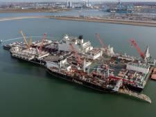 Grootste werkschip ter wereld komt naar Vlissingen om boorplatform af te leveren