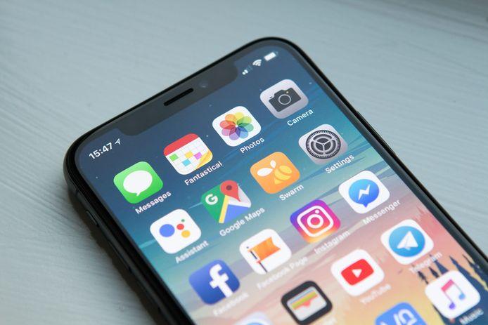 Het beginscherm van de iPhone is door de jaren heen nauwelijks gewijzigd.