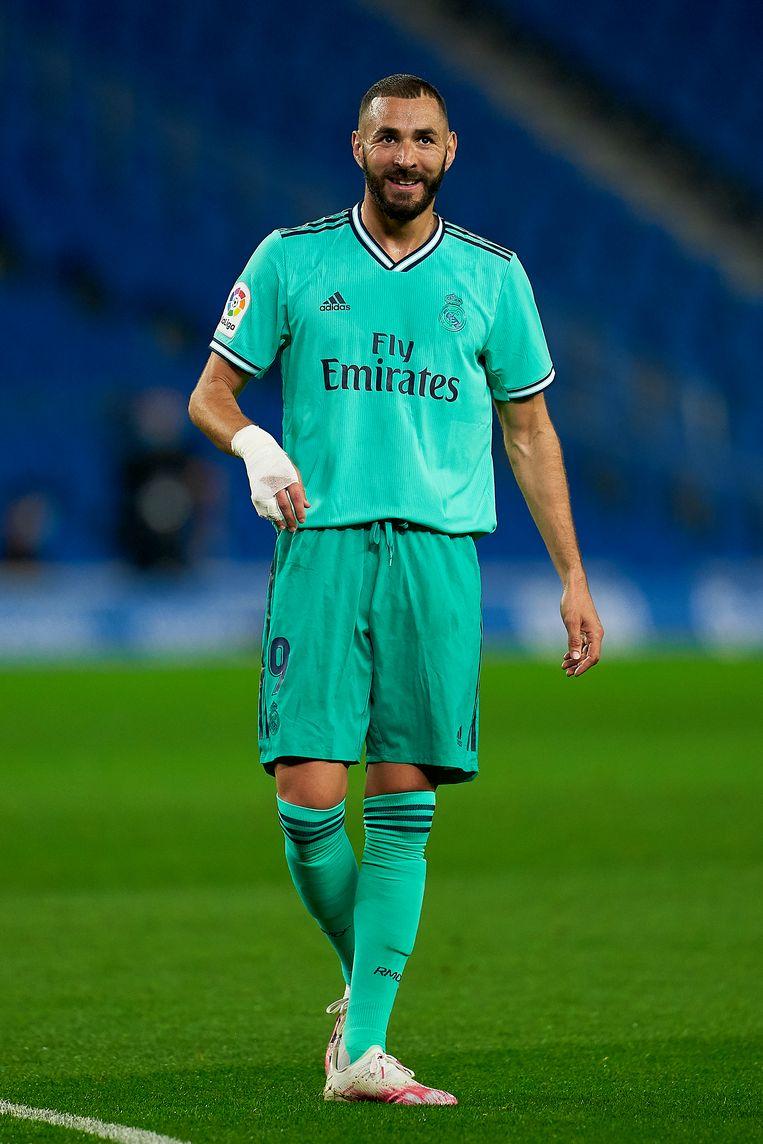 Karim Benzema Beeld Getty Images