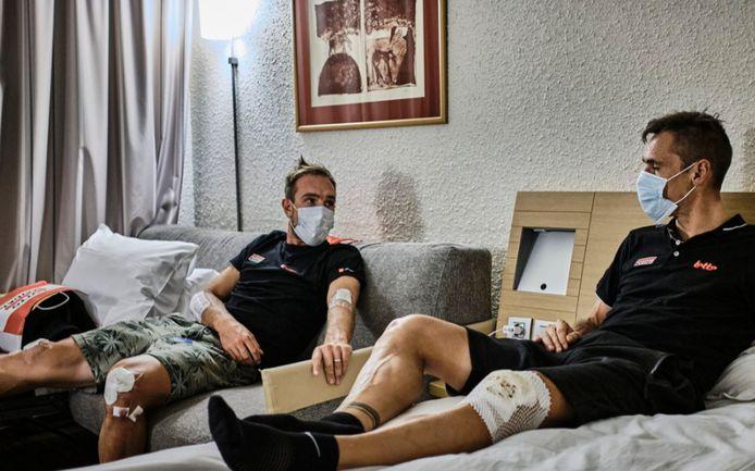 John Degenkolb en Philippe Gilbert moeten de Tour allebei verlaten na één rit.
