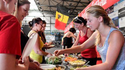 Barbecue om geslaagd WK voetbal af te sluiten
