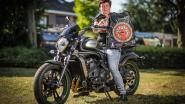 """""""We zijn de bedreigingen moe"""": logo op motorvest van Beringse vzw lijkt op dat van Duitse motorbende, en dat laat die laatste duidelijk merken"""