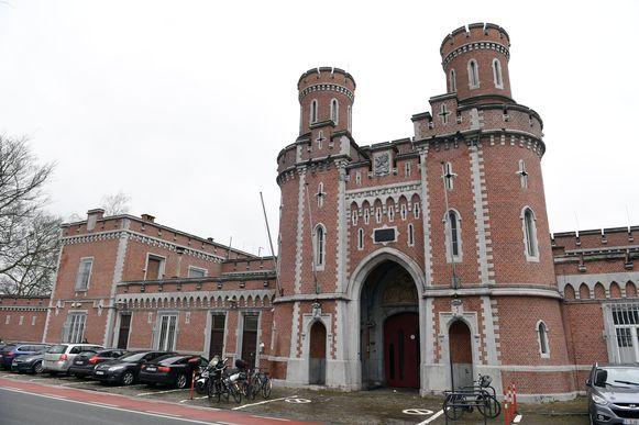 De gevangenis van Leuven Centraal.