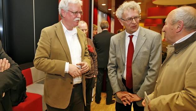 Dick van den Polder (uiterst rechts).
