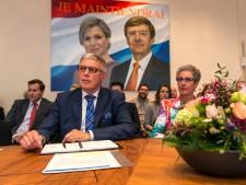 Burgemeester Henk Robben van Wierden gaat met pensioen
