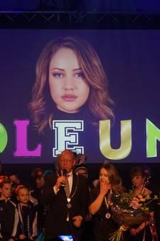The Voice-winnares Pleun gehuldigd in Nuenen