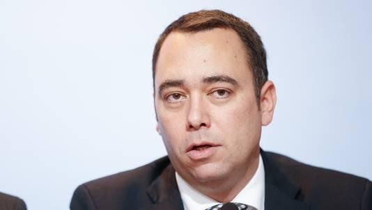 Maxime Prévot, ministre wallon du Patrimoine.