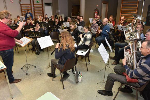 Archiefbeeld - De Koninklijke Harmonie Sint-Cecilia Horebeke is één van de deelnemende harmonieën.