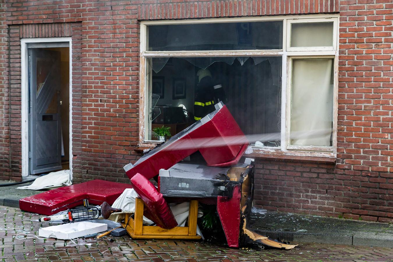 Brand in Oosterhout.