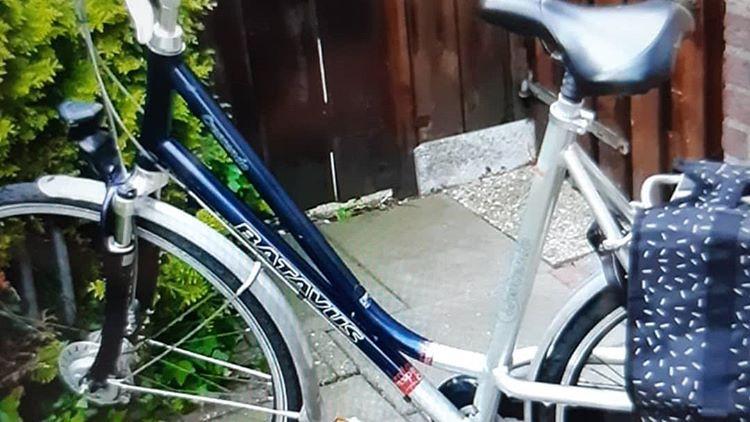 De in Tiel gestolen fiets.