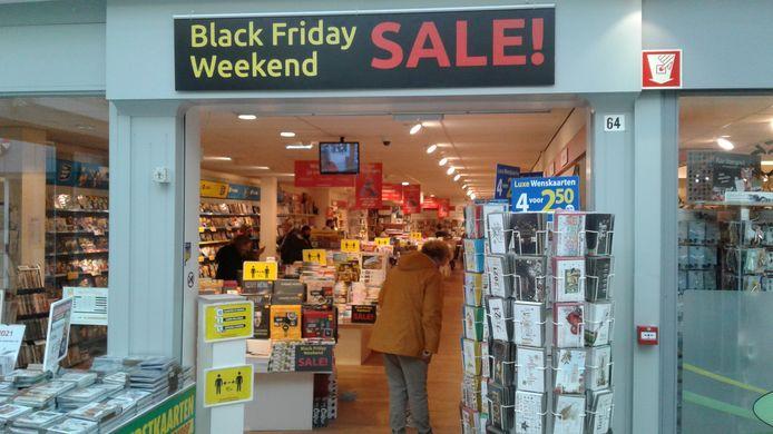 Geen 'Rotterdamse' toestanden in Waalwijk tijdens het Black Friday-weekeind.
