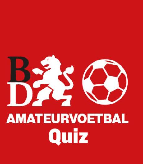 Quiz | Kun jij alle amateurvoetbalclubs van het Brabants Dagblad opnoemen?