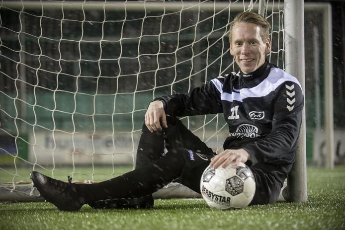 Sjors Storkhorst scoorde tweemaal voor RKZVC en miste een strafschop.