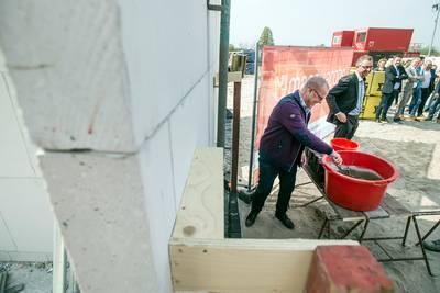 De Tuinderij in Zundert wordt gebouwd en is gewild