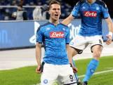 Mertens en Milik helpen Napoli naar volgende ronde