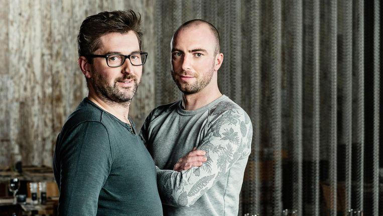 Karel (rechts) nam zes maanden verlof zonder wedde om deel te nemen aan 'Mijn Pop-Uprestaurant'.