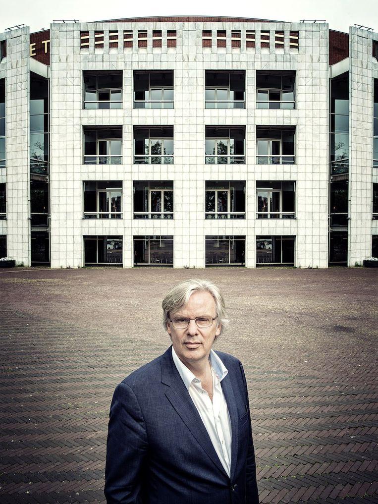 'Soms hoor ik weleens een mooi geluid in Amsterdam, maar het klinkt ook weleens vals' Beeld Martin Dijkstra