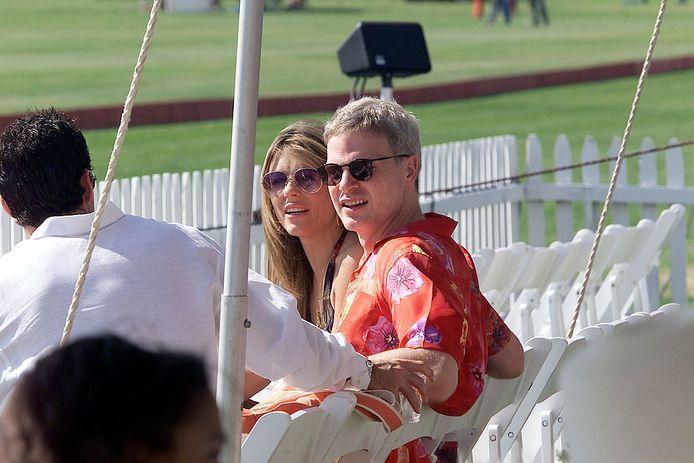 Elizabeth Hurley et Steve Bing (2001)