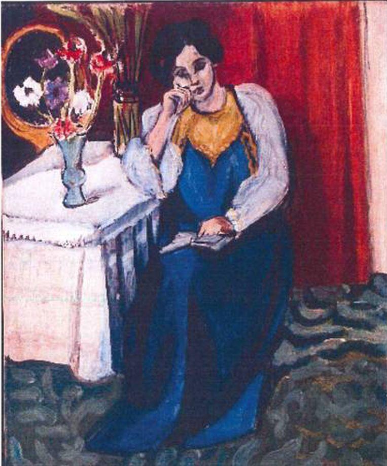 Het gestolen schilderij van Henri Matisse. Beeld afp