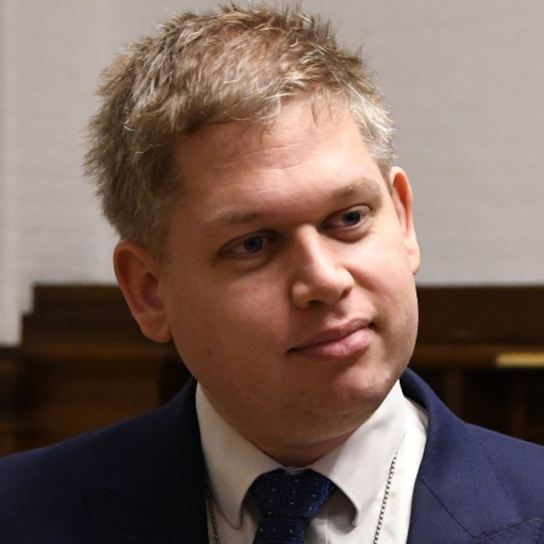 De Deense Islamcriticus en advocaat Rasmus Paludan.