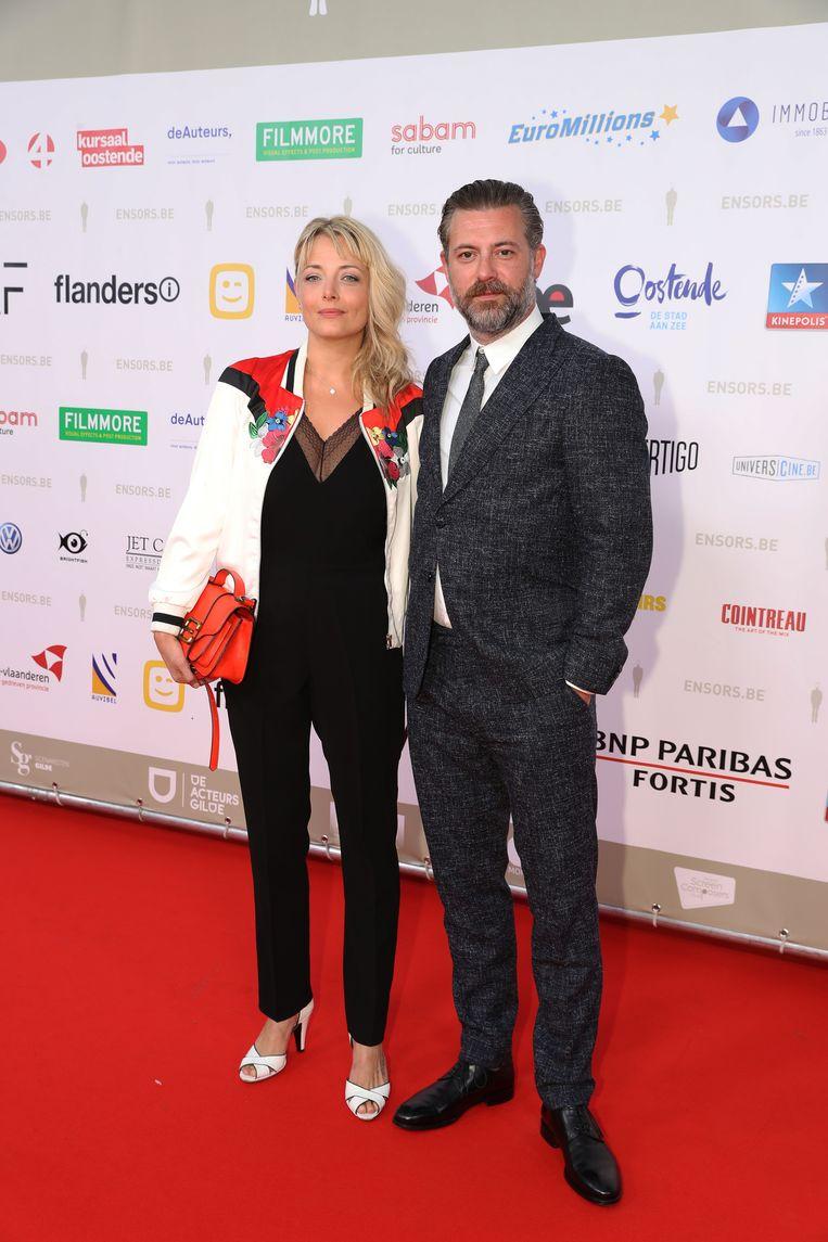 Geert Van Rampelberg en zijn partner.