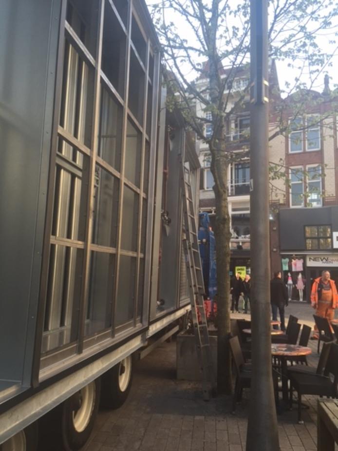 Grote transporten voor H&M en bomen: dat mixt niet lekker
